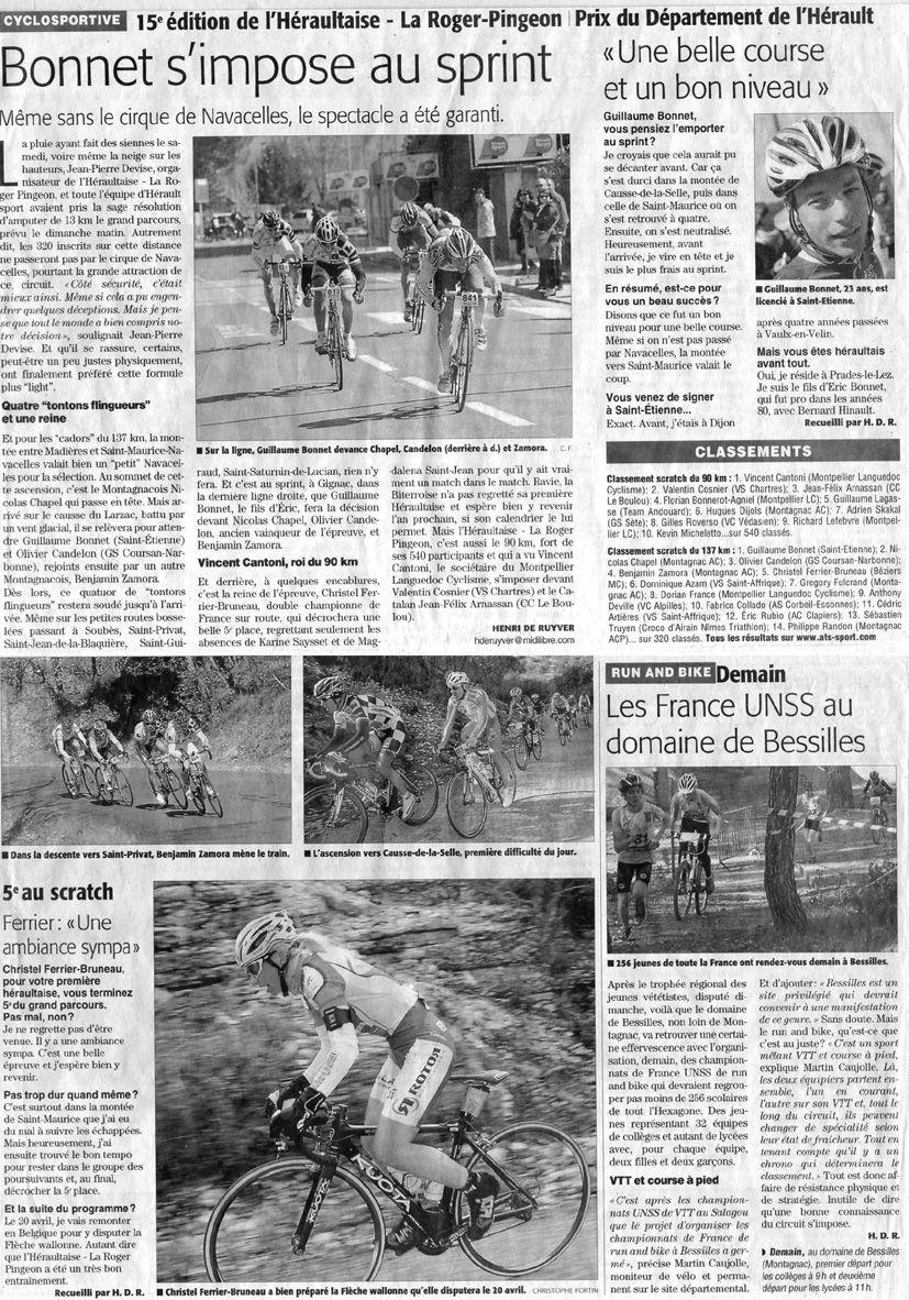 article GB midi libre mardi 9 avril 2013