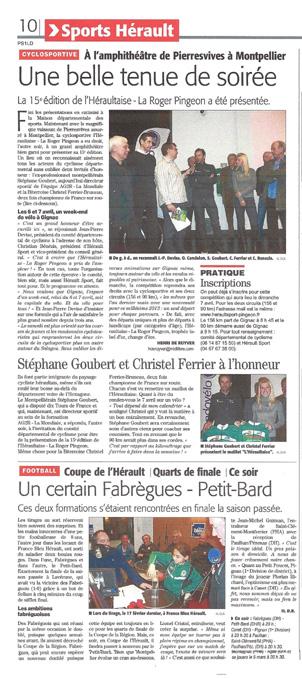 présentation Héraultaise 3013 amphitéatre